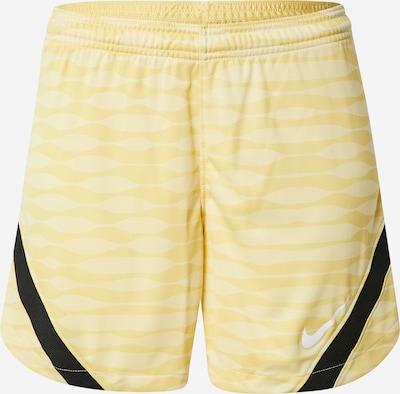 NIKE Sportbroek in de kleur Geel / Lichtgeel / Zwart, Productweergave