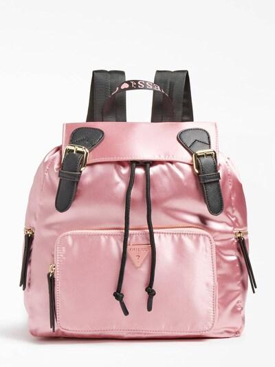 GUESS Rucksack 'Nyna' in pink / schwarz, Produktansicht
