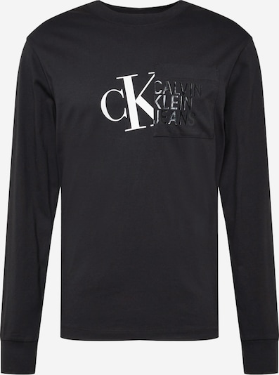 Calvin Klein Jeans Tričko - čierna / biela, Produkt