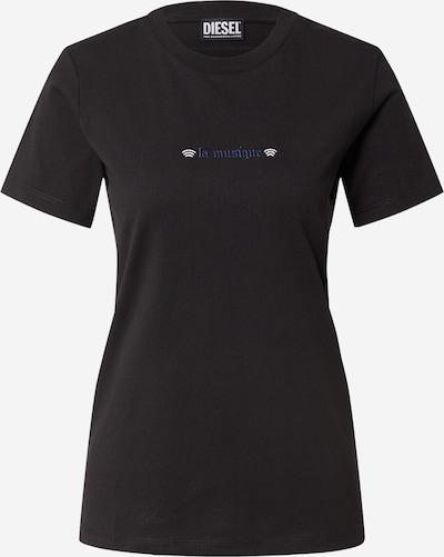 DIESEL T-Krekls, krāsa - zils / melns / balts, Preces skats