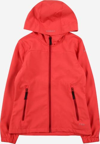 ICEPEAK Softshelljacke 'Kobryn' in Rot