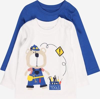 Maglietta BLUE SEVEN di colore blu / bianco, Visualizzazione prodotti