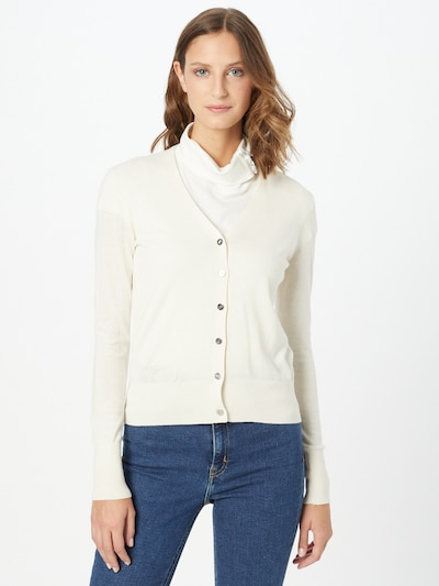 Lauren Ralph Lauren Knit Cardigan 'DENZEL' in Beige, View model