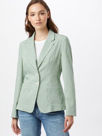 GERRY WEBER Blazer in hellgrün / weiß, Modelansicht