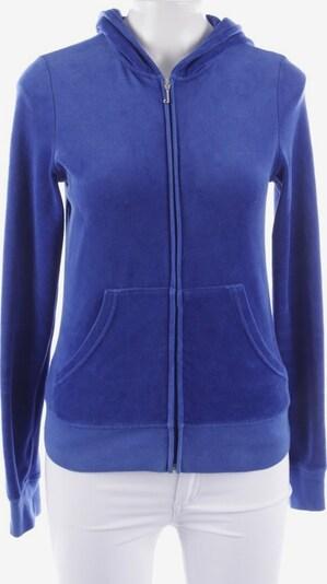 Juicy Couture Sweatjacke in M in blau, Produktansicht