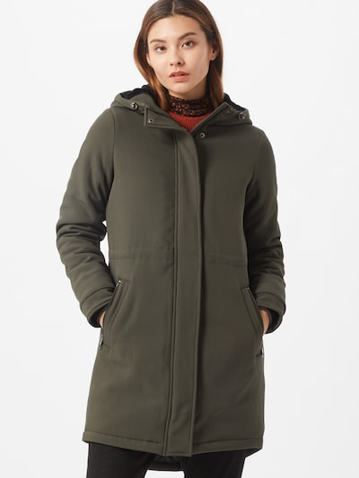 VERO MODA Mantel in dunkelgrün, Modelansicht