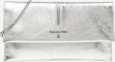 Clutch 'BORSA' PATRIZIA PEPE pe argintiu, Vizualizare produs