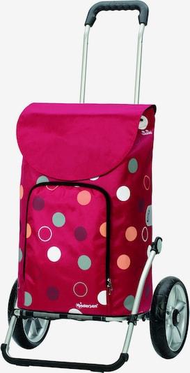 Andersen Shopper Einkaufstrolley 'Kira' in mischfarben / grenadine, Produktansicht