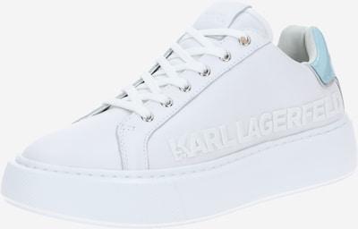 Karl Lagerfeld Niske tenisice 'MAXI KUP' u azur / bijela: Prednji pogled