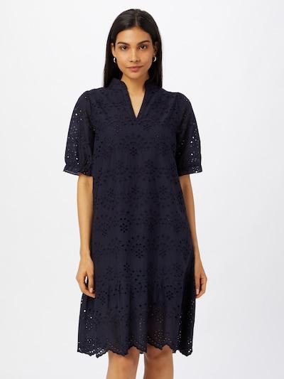 SAINT TROPEZ Kleid 'Geleksa' in dunkelblau, Modelansicht