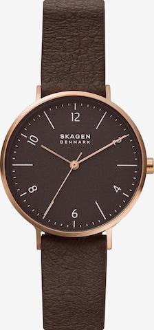 SKAGEN Uhr in Braun