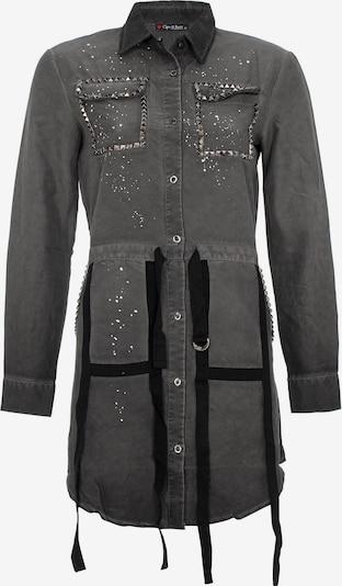 CIPO & BAXX Jeanskleid in khaki, Produktansicht