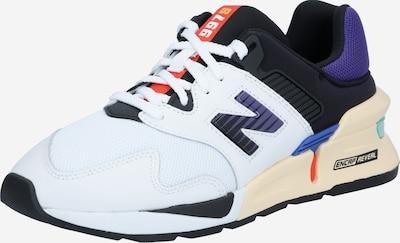 new balance Sneaker in beige / dunkellila / dunkelorange / schwarz / weiß, Produktansicht