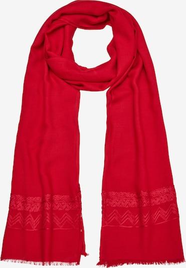 s.Oliver Sjaal in de kleur Rood, Productweergave