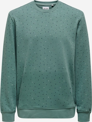 Only & Sons Sweatshirt in Blau