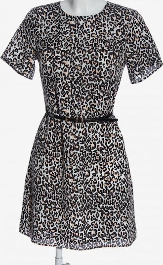 Oasis Kurzarmkleid in XS in creme / schwarz / weiß, Produktansicht
