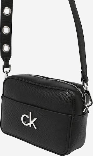 Calvin Klein Torba preko ramena u crna / srebro, Pregled proizvoda