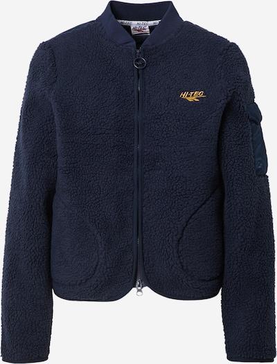 Jachetă  fleece funcțională 'KESWICK' HI-TEC pe albastru închis / galben auriu, Vizualizare produs