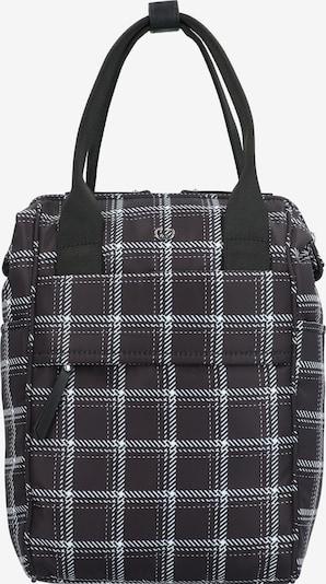 GERRY WEBER Rucksack 'Lowlight' in schwarz / weiß, Produktansicht