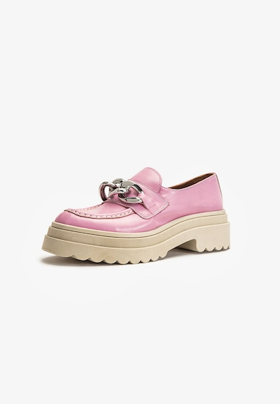 INUOVO Schuh in silbergrau / pink / hellpink, Produktansicht