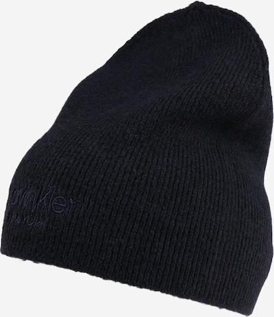Calvin Klein Bonnet en bleu marine, Vue avec produit