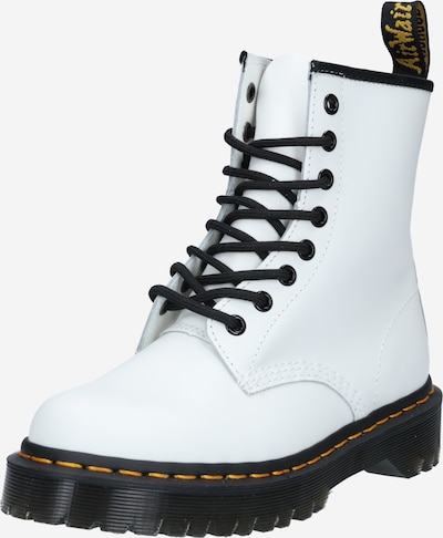 Dr. Martens Lace-up bootie in black / white, Item view