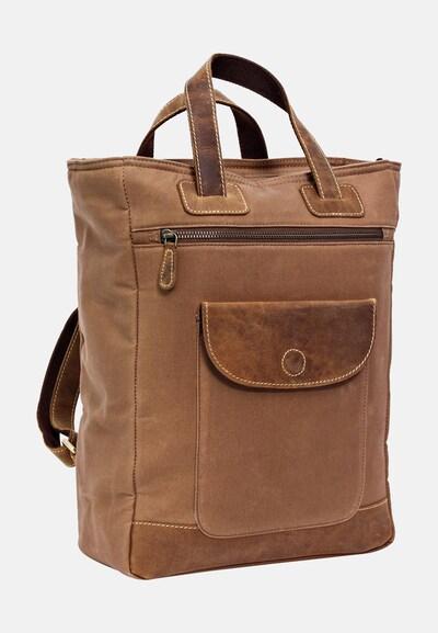 Gusti Leder Cityrucksack Gusti Leder 'Caya' Rucksack in beige, Produktansicht