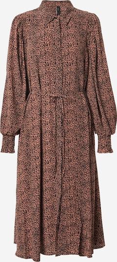 Y.A.S Kleid 'LAIVO' in mokka / schwarz, Produktansicht