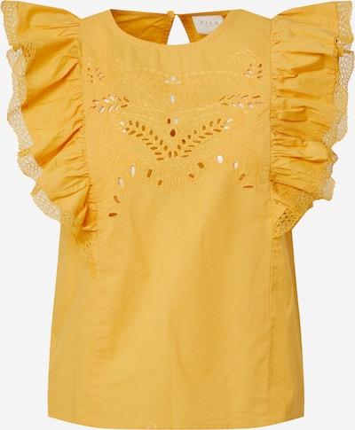 VILA Bluse 'CASANDRA' in goldgelb, Produktansicht