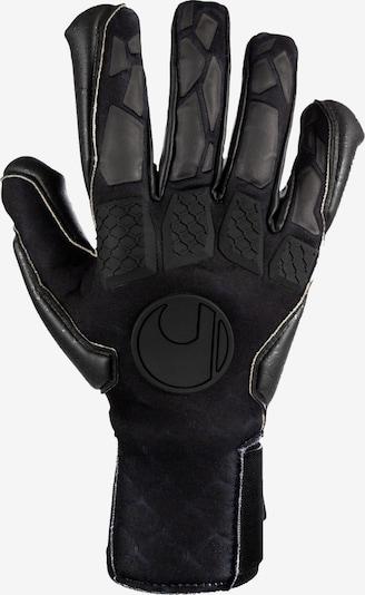 UHLSPORT Torwarthandschuhe in schwarz, Produktansicht