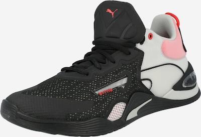 PUMA Chaussure de sport en gris clair / rose ancienne / noir, Vue avec produit