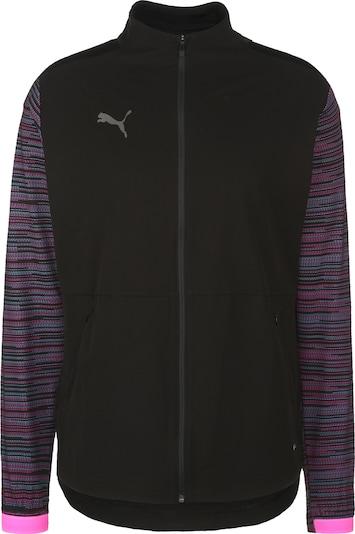 PUMA Sweatjacke 'ftblNXT' in pink / schwarz, Produktansicht