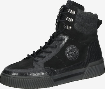 bugatti High-Top Sneakers in Black