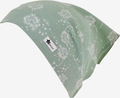 STERNTALER Kopftuch in pastellgrün / weiß, Produktansicht