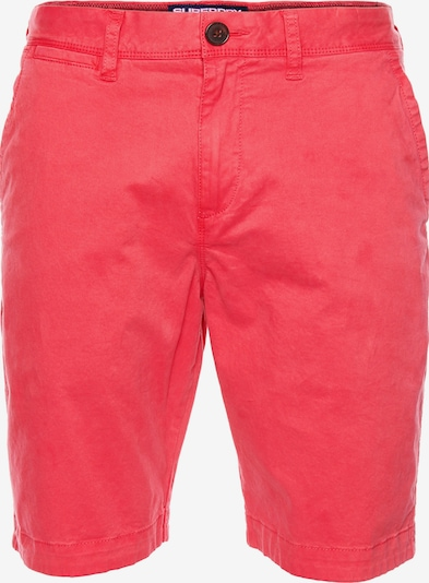 Superdry Shorts in knallrot, Produktansicht