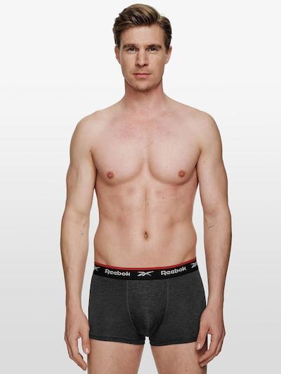 Reebok Sport Sous-vêtements de sport 'REDGRAVE' en gris foncé / gris chiné / noir: Vue de face
