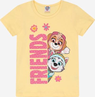 PAW Patrol Тениска в тюркоазен / жълто / сиво / розово / бяло, Преглед на продукта