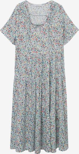 MANGO Summer Dress 'BALINES' in Light blue / Mixed colors, Item view