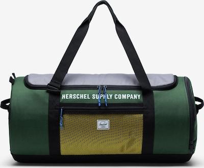 Herschel Sac à bandoulière 'Sutton Carryall' en gris / vert / noir, Vue avec produit
