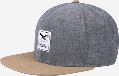 Cappello da baseball Iriedaily di colore beige / blu colomba, Visualizzazione prodotti