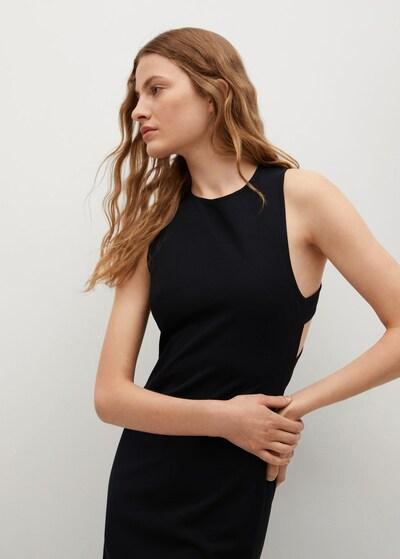 Rochie 'Raulen' MANGO pe negru, Vizualizare model