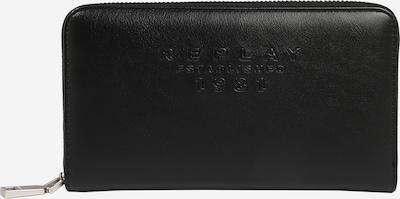 REPLAY Портмоне 'Portafogli' в черно, Преглед на продукта