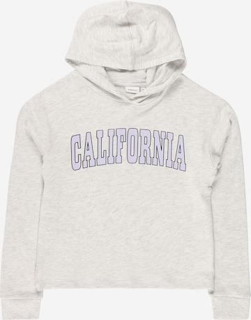 Sweat-shirt 'LUKKA' NAME IT en gris