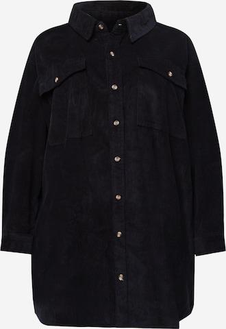 Urban Classics Curvy Bluzka w kolorze czarny