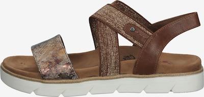 Relife Sandale in braun, Produktansicht