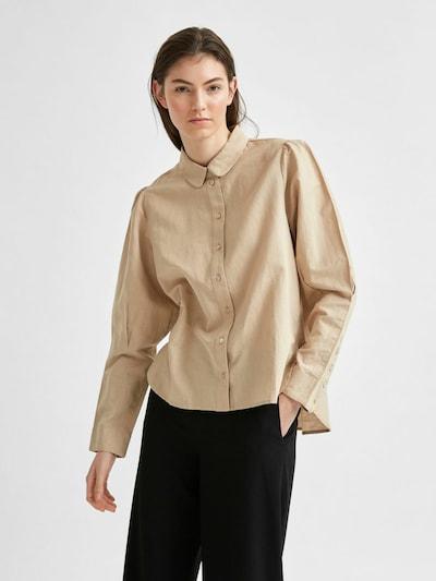Bluză SELECTED FEMME pe bej, Vizualizare model