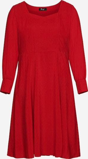 Rochie de cocktail SHEEGO pe roșu, Vizualizare produs
