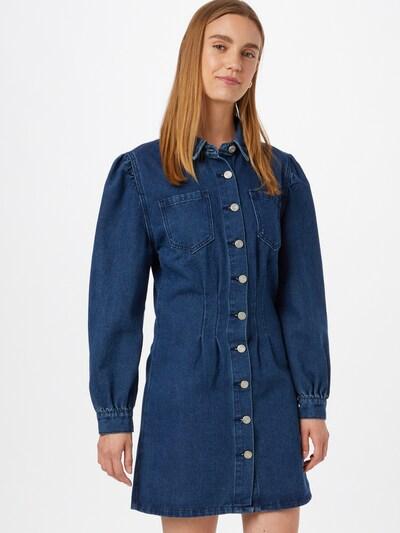 Missguided Kleid in blue denim, Modelansicht