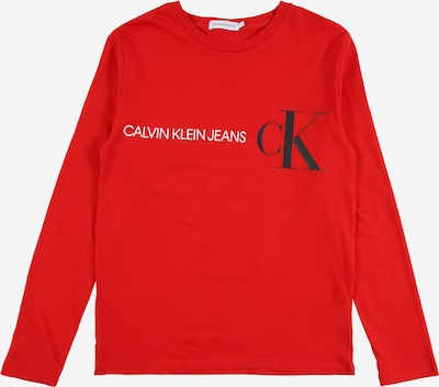 Calvin Klein T-Shirt en rouge / noir / blanc, Vue avec produit
