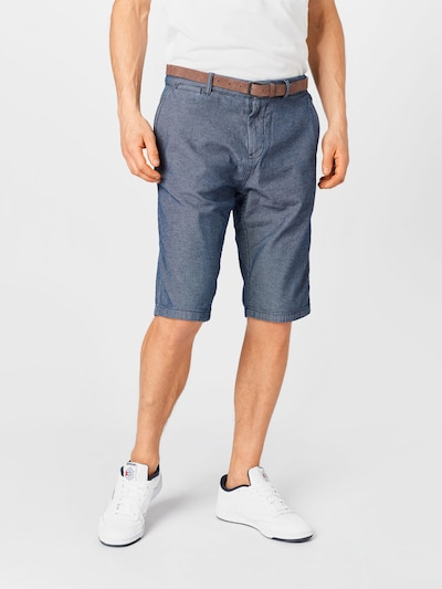 TOM TAILOR Chino kalhoty 'Josh' - modrá, Model/ka